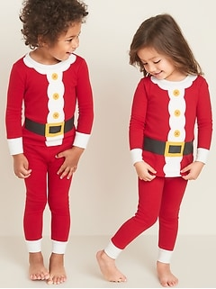 Santa Suit Graphic Pajama Set for Toddler & Baby