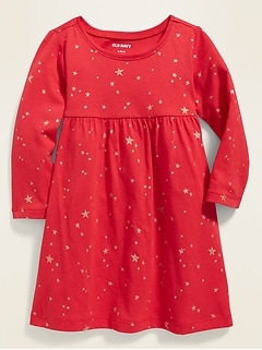Jersey Fit & Flare Dress for Baby