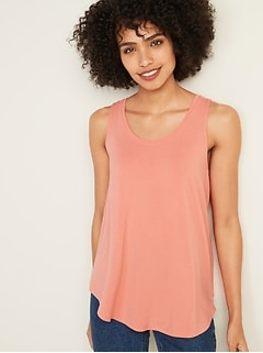Luxe Scoop-Neck Tank for Women