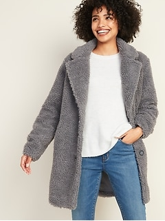 Sherpa Teddy Coat for Women