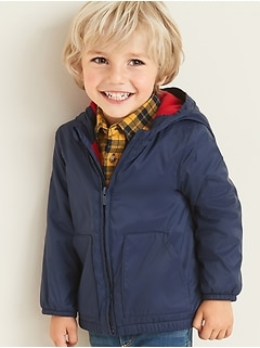 Performance Fleece-Lined Hooded Jacket for Toddler Boys
