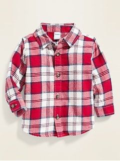Plaid Flannel Shirt for Baby
