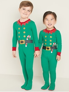 Elf Footie Pajama One-Piece for Toddler & Baby