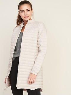 Lightweight Long-Line Jacket for Women