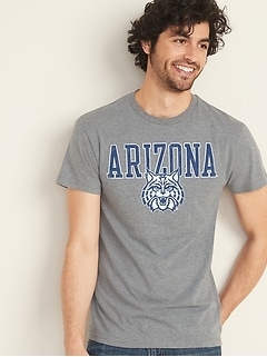 College-Team Graphic Tee for Men
