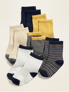 Crew Socks 6-Pack for Baby
