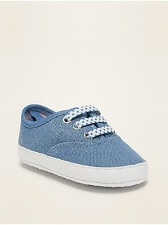 Twill Slip-On Sneakers for Baby