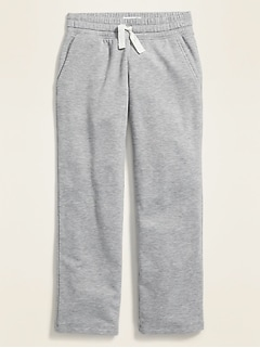 Drapey Straight-Leg Sweatpants for Girls
