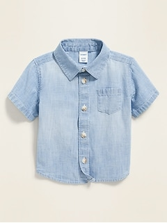 Chambray Shirt for Baby