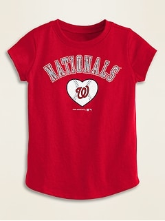 MLB® Team-Graphic Tee for Toddler Girls