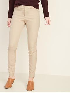 All-New Mid-Rise Pixie Full-Length Pants for Women