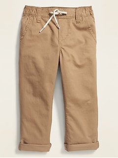 Relaxed Pull-On Anytime Chinos for Toddler Boys