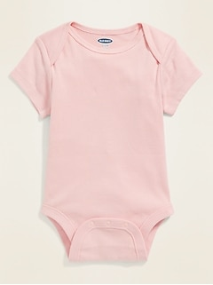 Unisex Short-Sleeve Bodysuit for Baby
