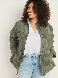 Scout Utility Plus-Size Jacket