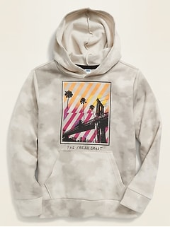 Graphic Pullover Hoodie for Boys