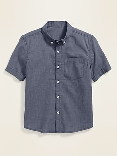 Built-In Flex Short-Sleeve Shirt for Boys