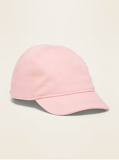 Twill Baseball Cap for Toddler Girls