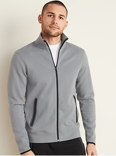 Dynamic Fleece Pique Zip Jacket for Men