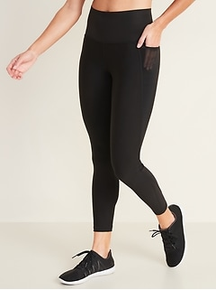 High-Waisted Built-In Sculpt Elevate 7/8-Length Leggings for Women