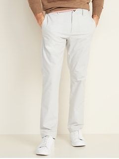 All-New Slim Ultimate Built-In Flex Textured Chinos for Men