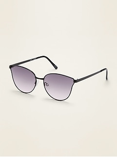 Wire-Frame Cat-Eye Sunglasses for women