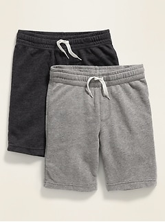 French-Terry Jogger Shorts 2-Pack for Boys