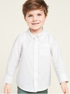 Oxford Shirt for Toddler Boys