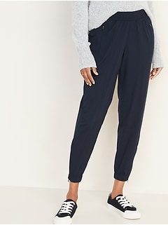 Mid-Rise StretchTech Jogger Pants for Women