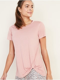 UltraLite Twist-Hem Performance Tee for Women