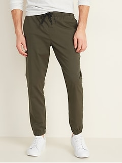 Slim Built-In Flex Tech Joggers for Men