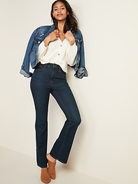 Extra High-Waisted Flare Jeans for Women