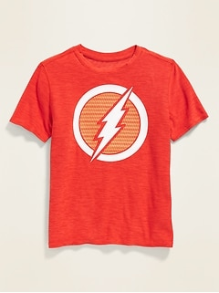Licensed-Graphic Ultra-Soft Breathe ON Tee for Boys