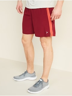 Quick-Dry Built-In Flex Run Shorts for Men -- 7-inch inseam