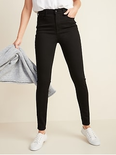 High-Waisted Built-In Sculpt Never-Fade Rockstar Jeans For Women