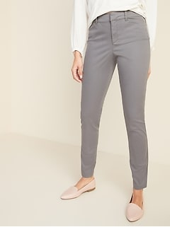Mid-Rise Pixie Ankle Chinos for Women