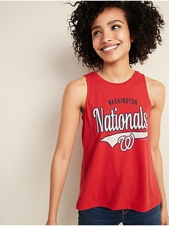MLB® Team Graphic High-Neck Tank Top for Women