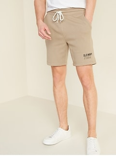 Logo-Graphic Jogger Shorts for Men --7.5-inch inseam