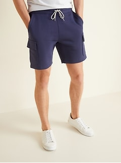 Cargo Jogger Shorts for Men -- 7.5-inch inseam