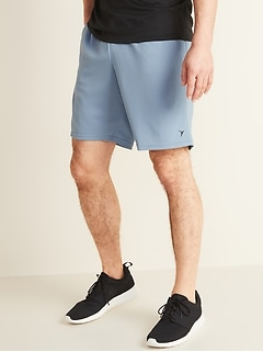 Go-Dry Mesh Performance Shorts for Men -- 9-inch inseam