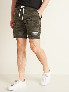 Logo-Graphic Drawstring Shorts for Men
