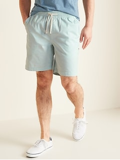 Twill Jogger Shorts for Men - 9-inch inseam