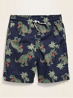 Graphic Swim Trunks for Boys