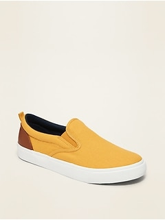 Canvas Slip-On Sneakers for Boys