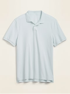 Moisture-Wicking Pique Pro Polo for Men