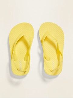 Solid-Color Flip-Flops for Toddler
