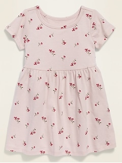 Printed Jersey Dress for Baby
