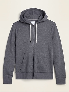 Classic Zip-Front Hoodie for Men
