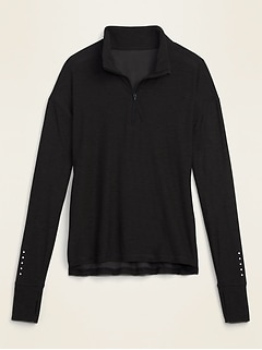Breathe ON 1/4-Zip Pullover for Women