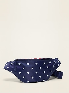 Americana Stars & Stripes Fanny Pack