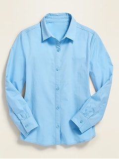 Uniform Long-Sleeve Shirt for Girls